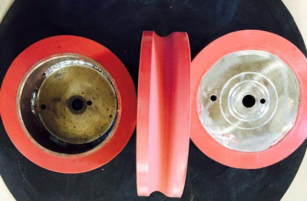 bánh xe silicon chịu nhiệt giá rẻ tại Bình Dương